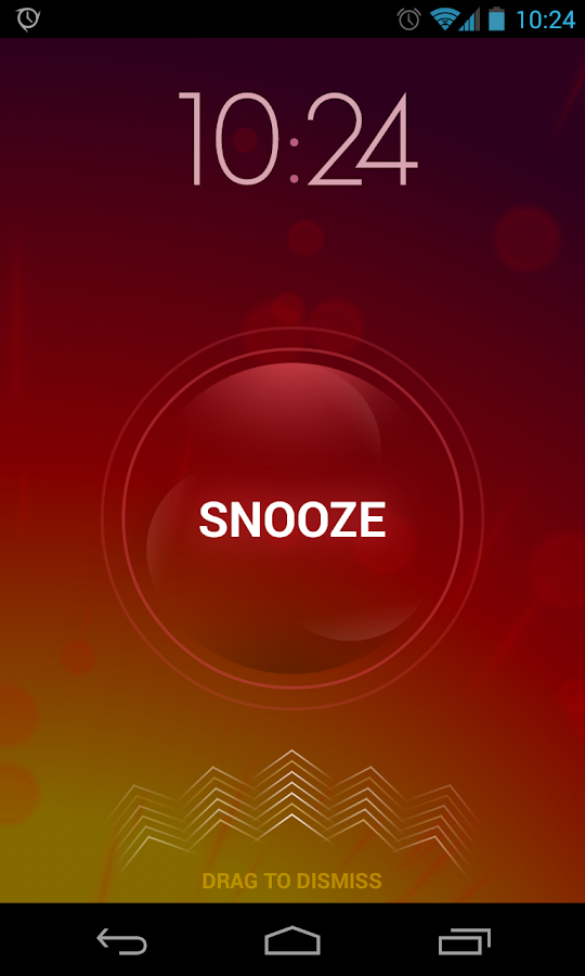 Screenshots of Timely Alarm Clock for iPhone