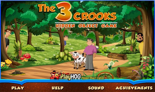 Three Crooks - Hidden Objects