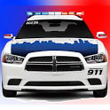 Toddler Kids Car Toy Police icon