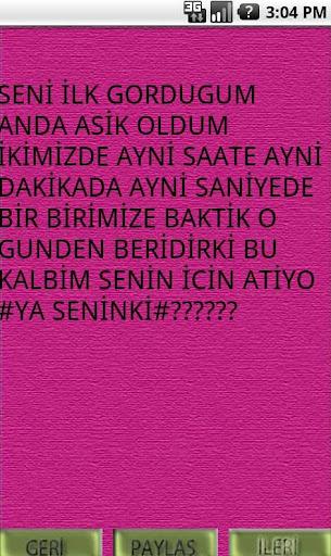 玩免費社交APP|下載Aşk Sözleri app不用錢|硬是要APP