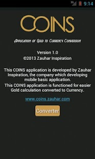 Coins(Gold Currency Converter)- screenshot thumbnail