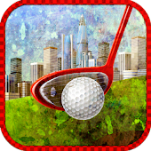 3d Urban Chaos City mini golf