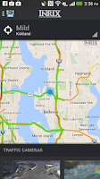 Screenshot of INRIX XD Traffic Maps & Alerts