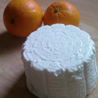 Fennel & Orange Risotto with Goat's Ricotta, Spring Onion & Chilli