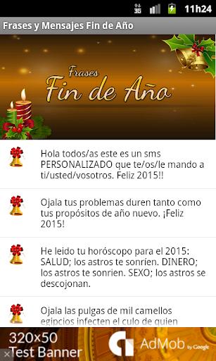 Frases fin de año 2015