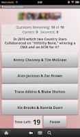 Screenshot of Country Music Trivia