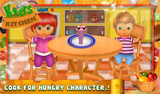 キッズキッチン - 料理ゲーム