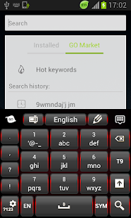 Black Red Keyboard - screenshot thumbnail
