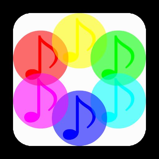 音乐の音絵 LOGO-記事Game