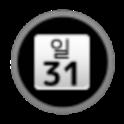 DayWeekBar 한국어 icon