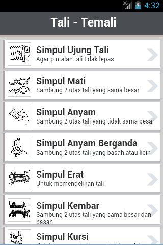 Simpul & Tali-Temali- screenshot