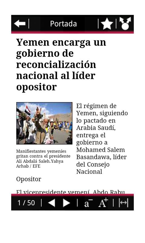 RSS Público - screenshot
