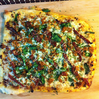 Sun Dried Tomato Pizza
