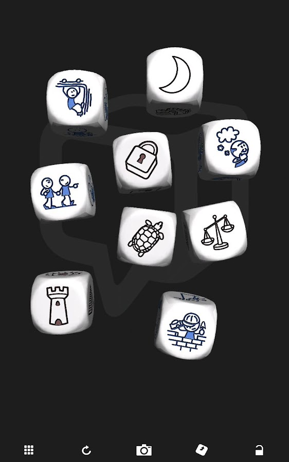 Rory's Story Cubes - screenshot