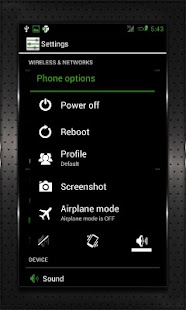 GREEN HEAVY CM10 AOKP CM7+- screenshot thumbnail