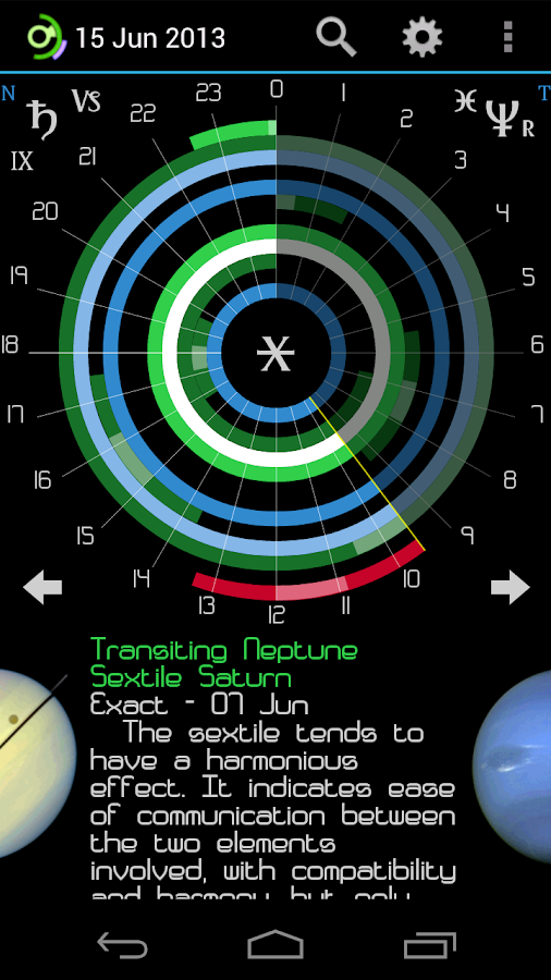 Planetus Astrology Free - screenshot