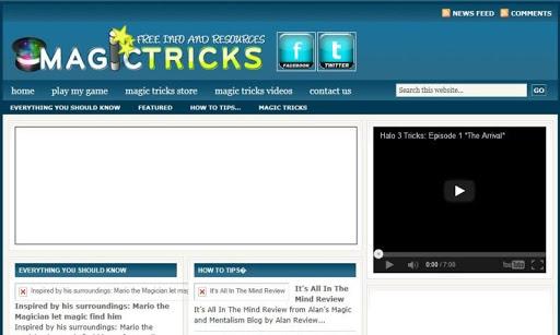 Cool Magic Tricks Blog