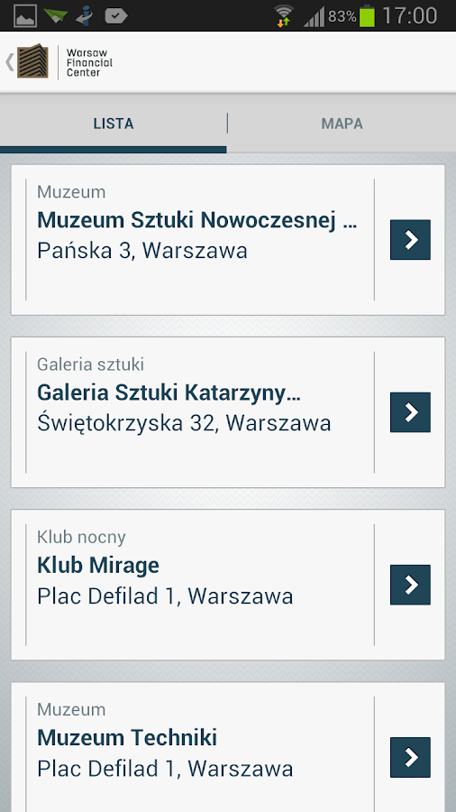 Warsaw Financial Center- screenshot