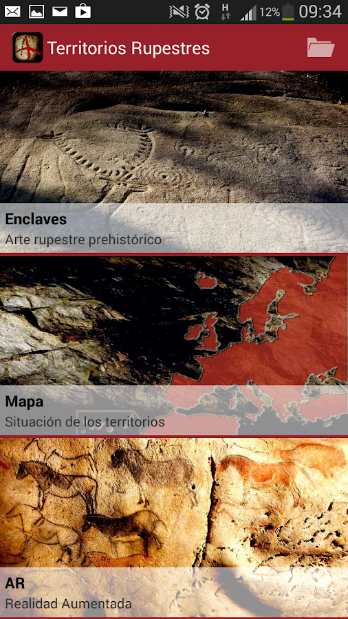 Territorios Rupestres - screenshot