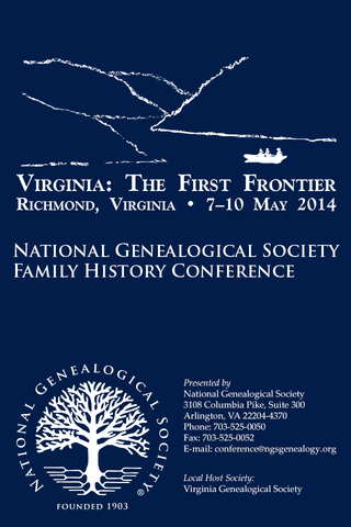 NGS 2014 Family History Con