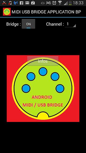 USB HOST MIDI BRIDGE