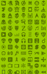 1-BIT BLACK Icon Theme- screenshot thumbnail