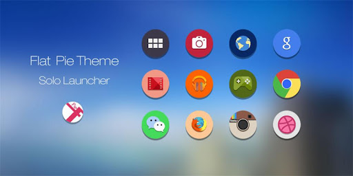 Flat Pie Icons Theme