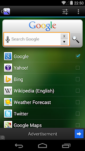 Free Download Quick Search Widget (free) APK