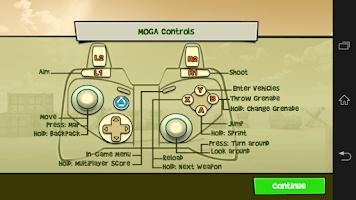 Screenshot of Mobile Controller Helper