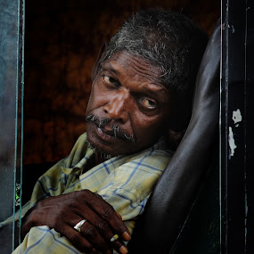 Traveller by Mriganka Sekhar Halder - People Street & Candids