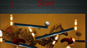 Screenshot of Fire Ball Drop