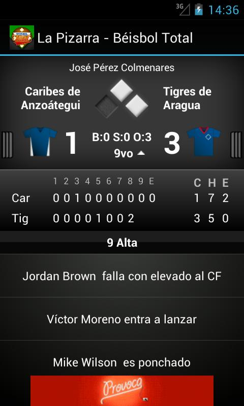 La Pizarra - Beisbol Total - screenshot