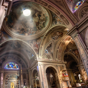 by Andrea Conti - Buildings & Architecture Places of Worship ( Architecture, Ceilings, Ceiling, Buildings, Building )