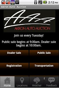 Akron Auto Auction- screenshot thumbnail