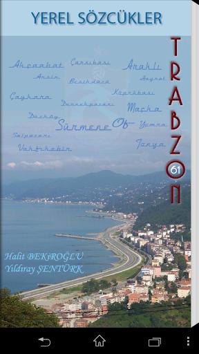 Trabzon Yerel Sözcükleri