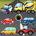 Puzzle for Toddlers Cars Truck icon