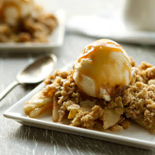 Apple Pear Crisp.