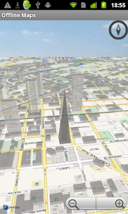 Offline Maps 3D - screenshot thumbnail