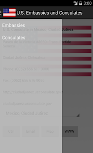 US Embassies and Consulates- screenshot thumbnail