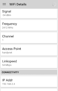 WIFI Signal Strength - screenshot thumbnail