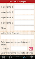 Screenshot of Recetas Caseras
