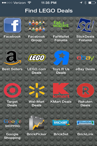 Find Lego Deals