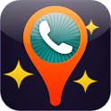 Caller location information icon