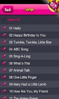 Screenshot of 35 Sing Along Songs