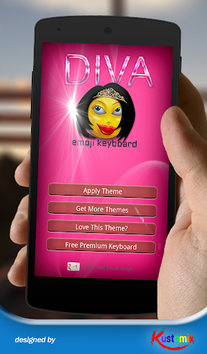 Diva Emoji Keyboard
