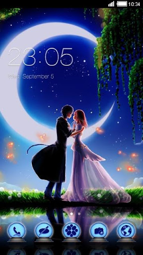 Moonlight Couple Theme