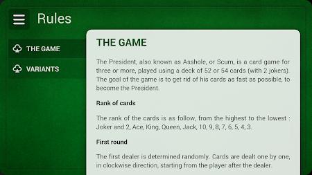 President - Card Game - Free 2.1.1 screenshot 8297