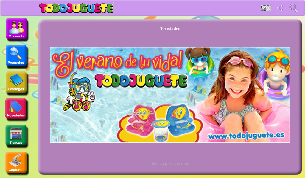 Todojuguete- screenshot