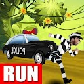 Runner Police Race Escape icon