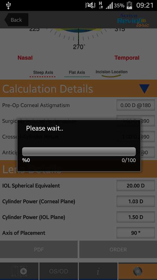 Easy Toric Calculator- screenshot